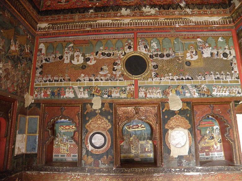 Paintings at Chhatra Mahal