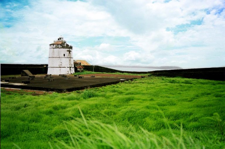 Lighthouse in Fort Aguada