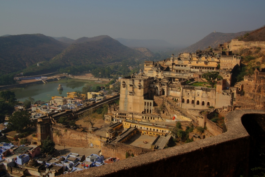 Nawal Sagar as seen from Bundi Palace