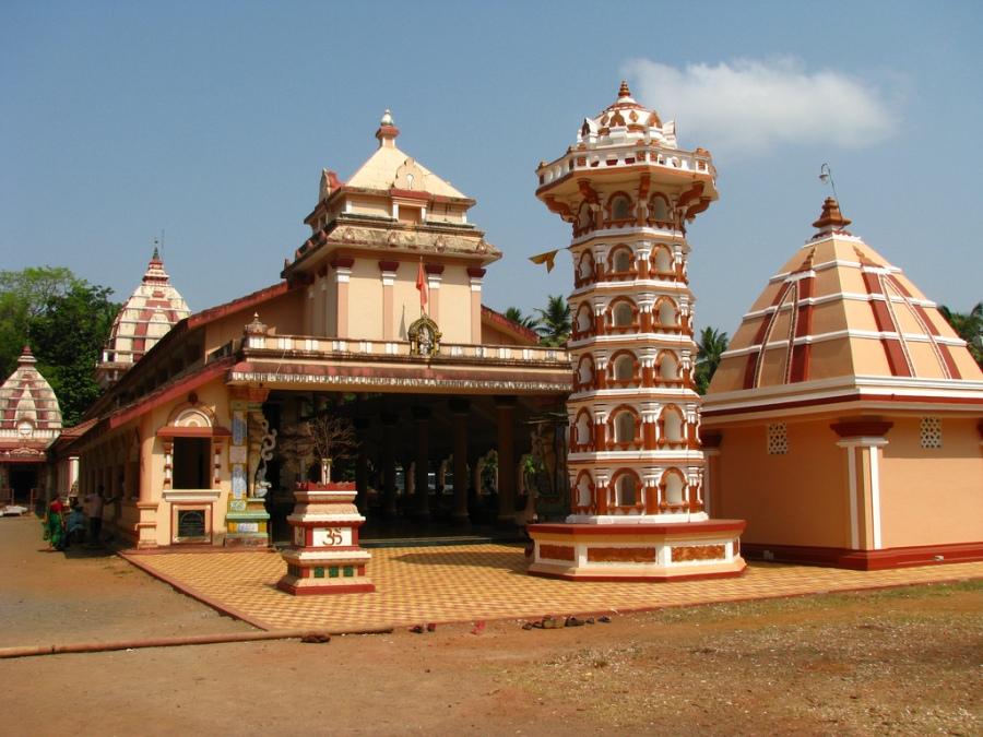 Shree Shantadurga Chamundeshwari Kudtari Mahamaya Temple at Quepem