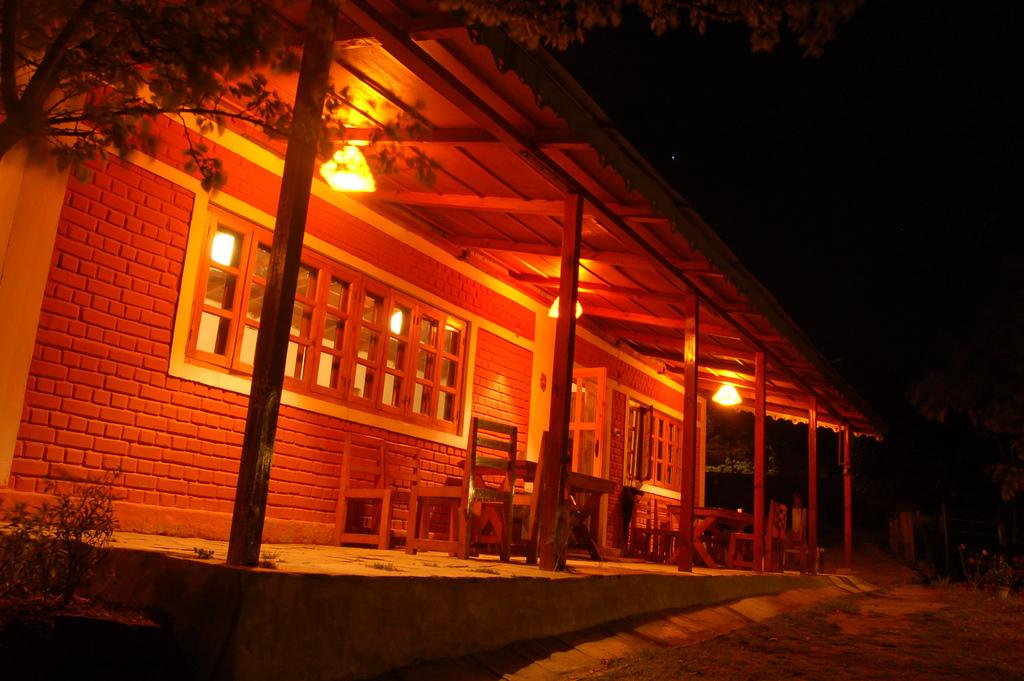The Dining Hall at The Himalayan Village, Sonapani