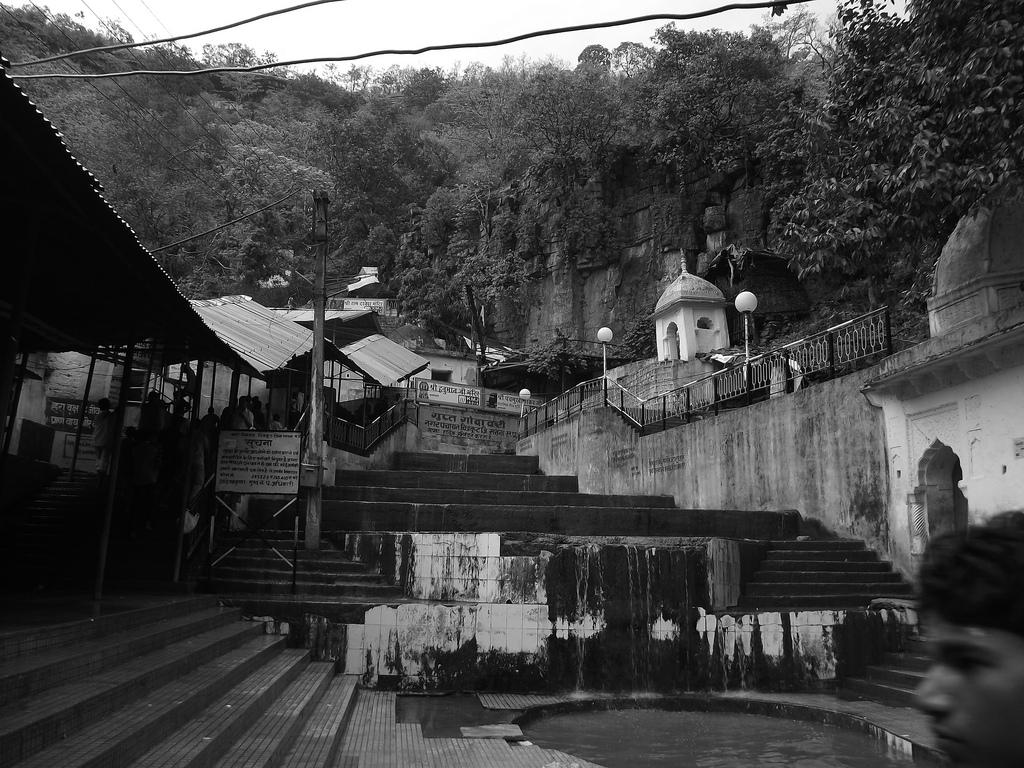The Outside Facade of Gupt Godavari, Chitrakoot