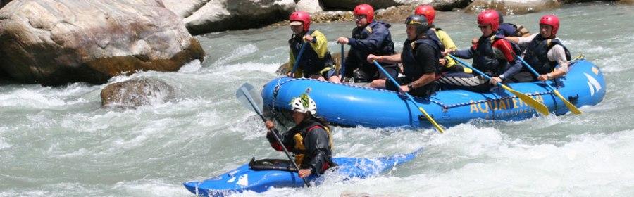 River Rafting at the Tons, Mori