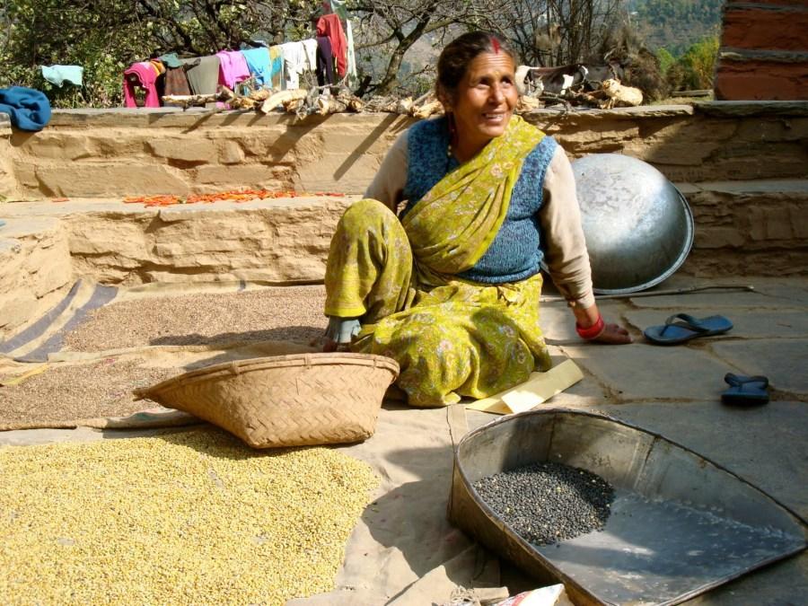 Village Life at Sonapani