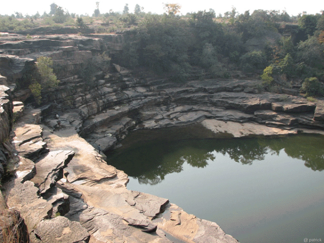 Ancient Gorge which might be the first spot where River Mandakini had blessed the town of Chitrakoot