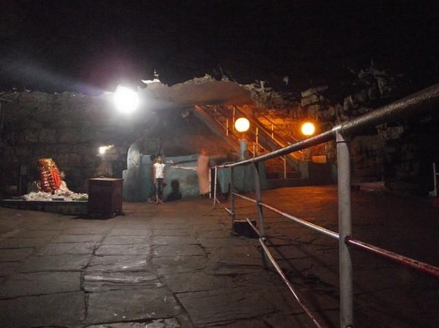 Inside View of the Gupt Godavari Cave