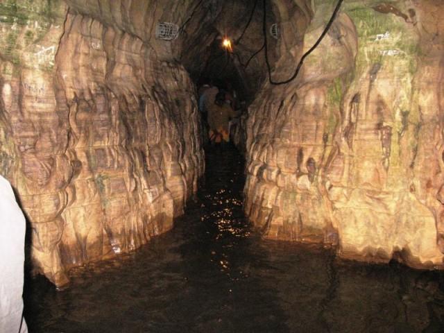 The mystical waters of Godavari at the Gupt Godavari Cave, Chitrakoot