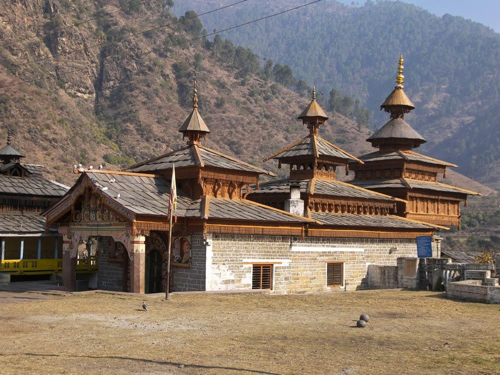 Mahasu Temple at Hanol