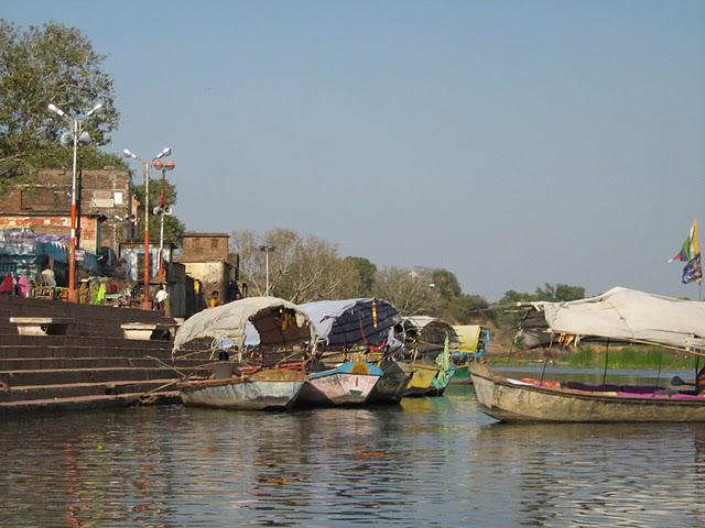 Boat Ride in the Tranquil waters of Mandakini Ganga, Ram Ghat, Chitrakoot