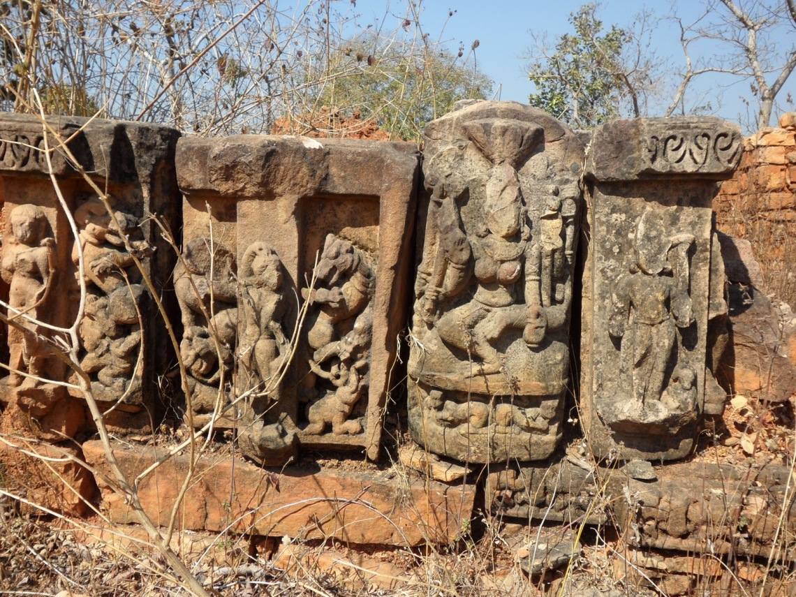 Ancient Temple Ruins near Sharbhanga Ashram, Chitrakoot