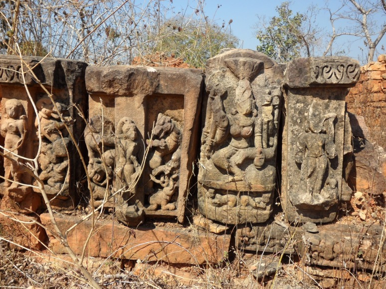 Ancient Temple Ruins near Sharbhanga Ashram, Chitrakoot