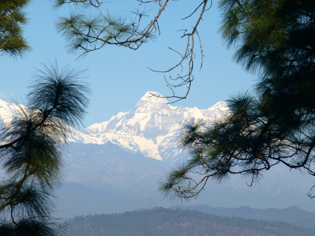 Views of The Kailashas seen from Sonapani-Image Courtesy @ Anil Walia- Flickr