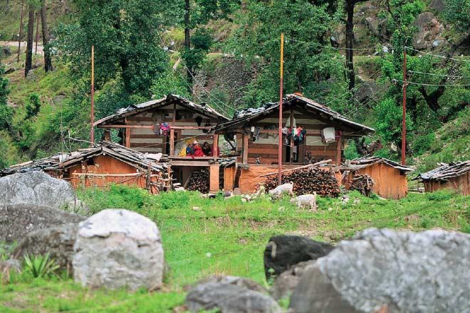 Village Huts at Mori