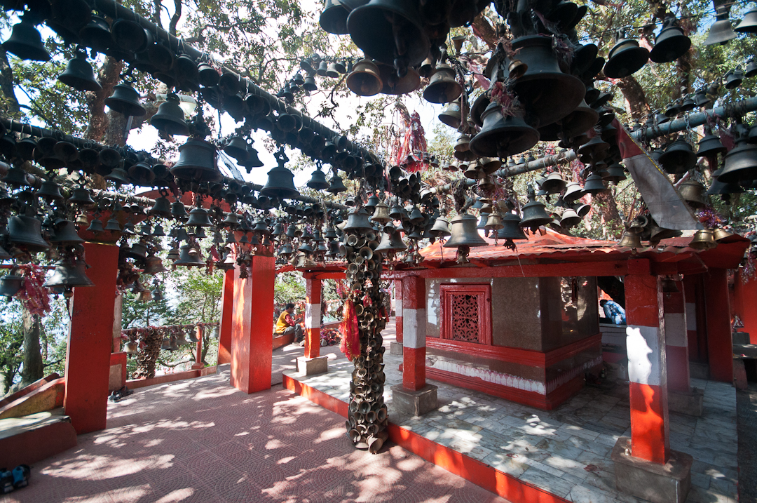 Bells adorn every available spot
