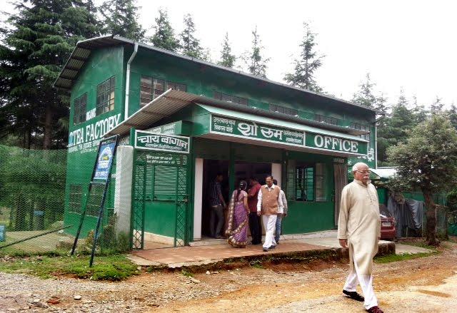 Tea Outlet at Ghorakhal