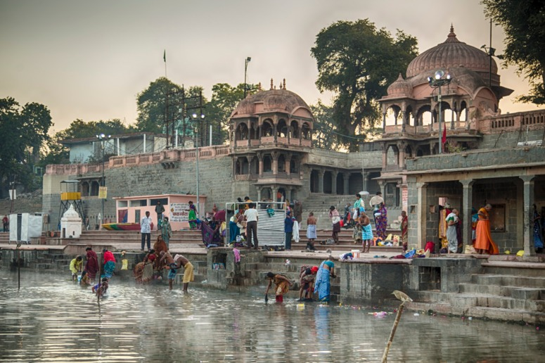 Gopal Mandir at Ram Ghat, Ujjain