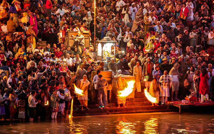 Crowd during the Kumbh Celbrations at Ujjain