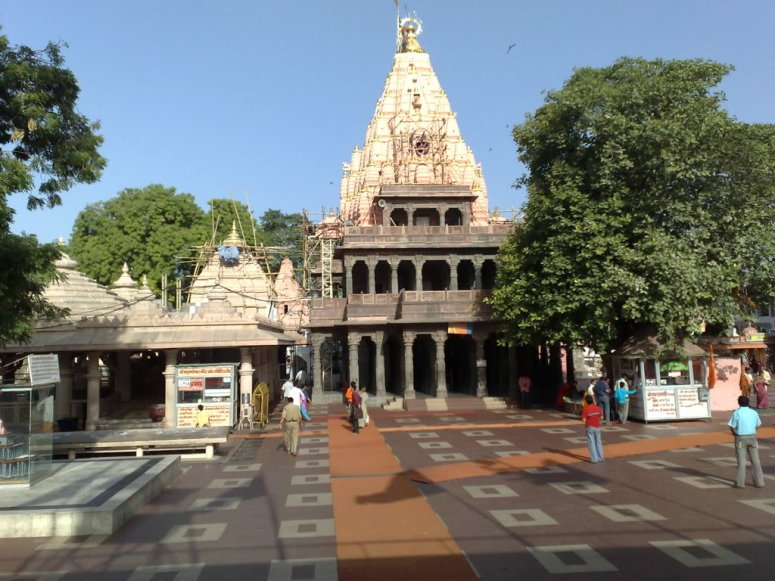 The premises of the Mahakaleswar Temple