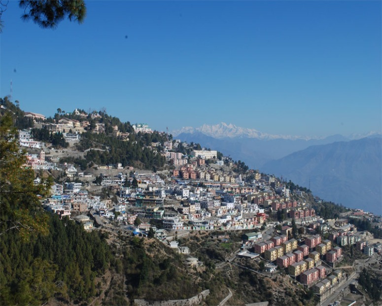 View of the New Tehri Town