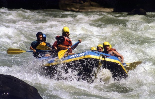 Rafting at