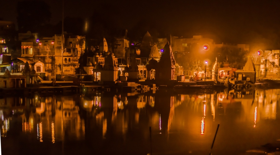 Ram Ghat-Ujjain Night