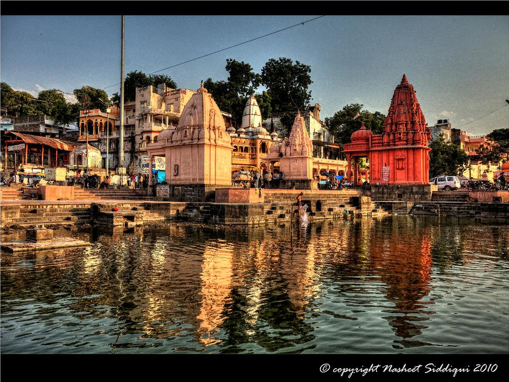 Ram Ghat, Ujjain by Nasheet Siddiqui