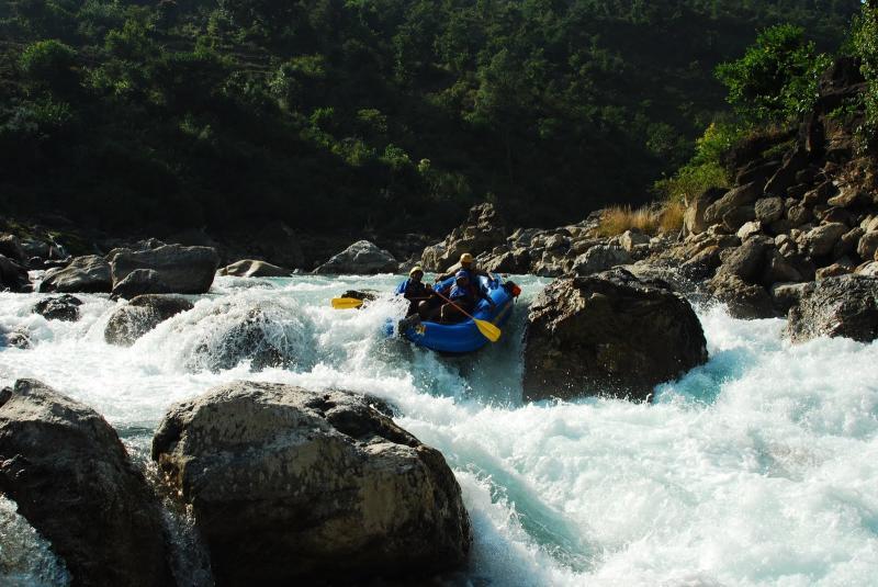 Rapid 3-4 at River Saryu