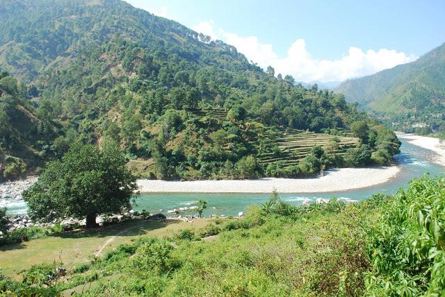 River Saryu, Bageshwar