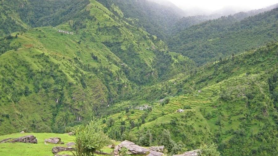 Enroute to Sheraghat via Binsar