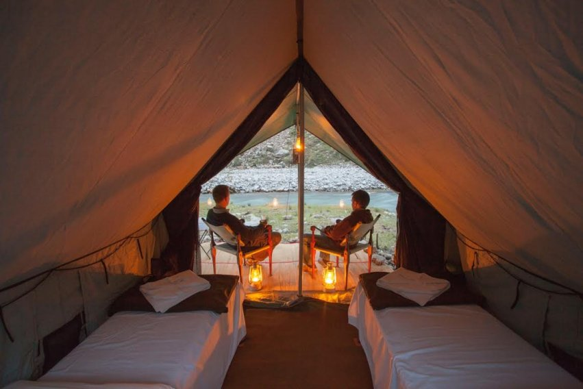 Private Tents at Himalayan Outback
