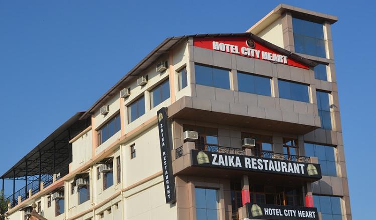Hotel City Heart - Nahan