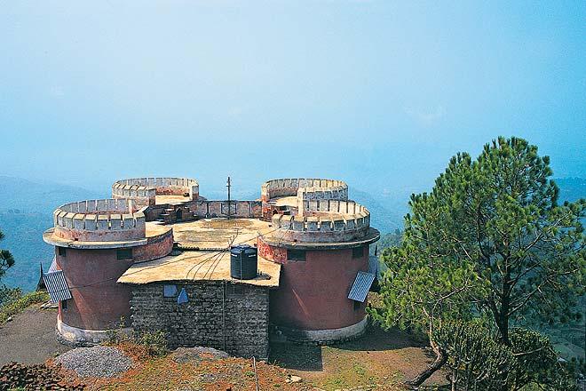 Historic Jaitak Fort, Jamta - Nahan