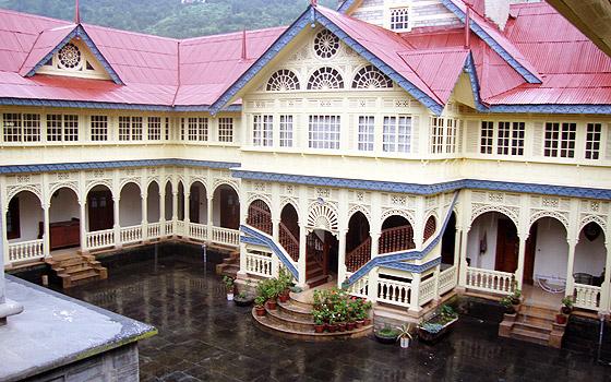 Inside the Jubbal Palace Image @Google
