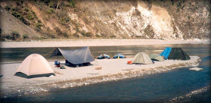 Kali River 'Confluence Camp' Chuka