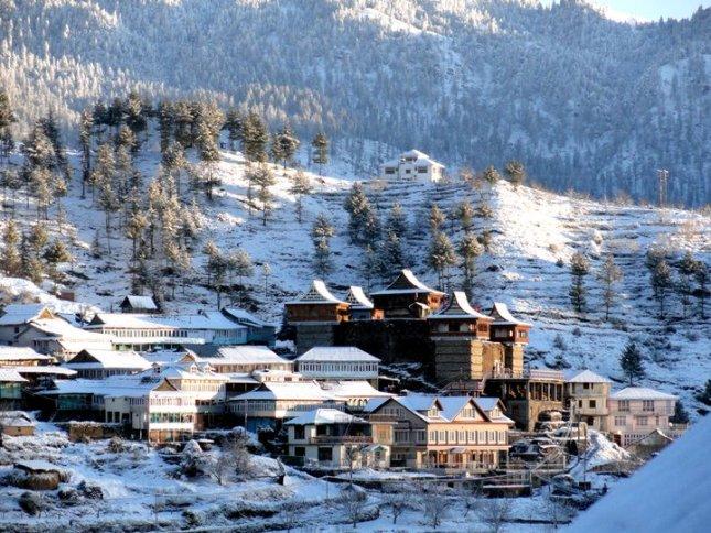 Winter Time at Kotkhai, Shimla