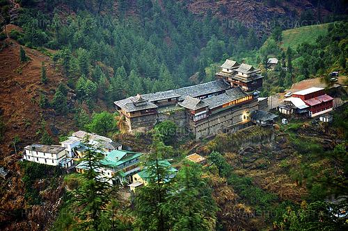 View of Kotkhai Palace