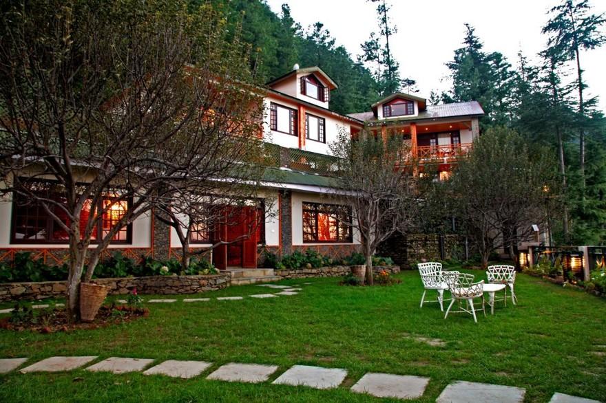 The Luxuriously opulent Resort - Mahasu HOuse