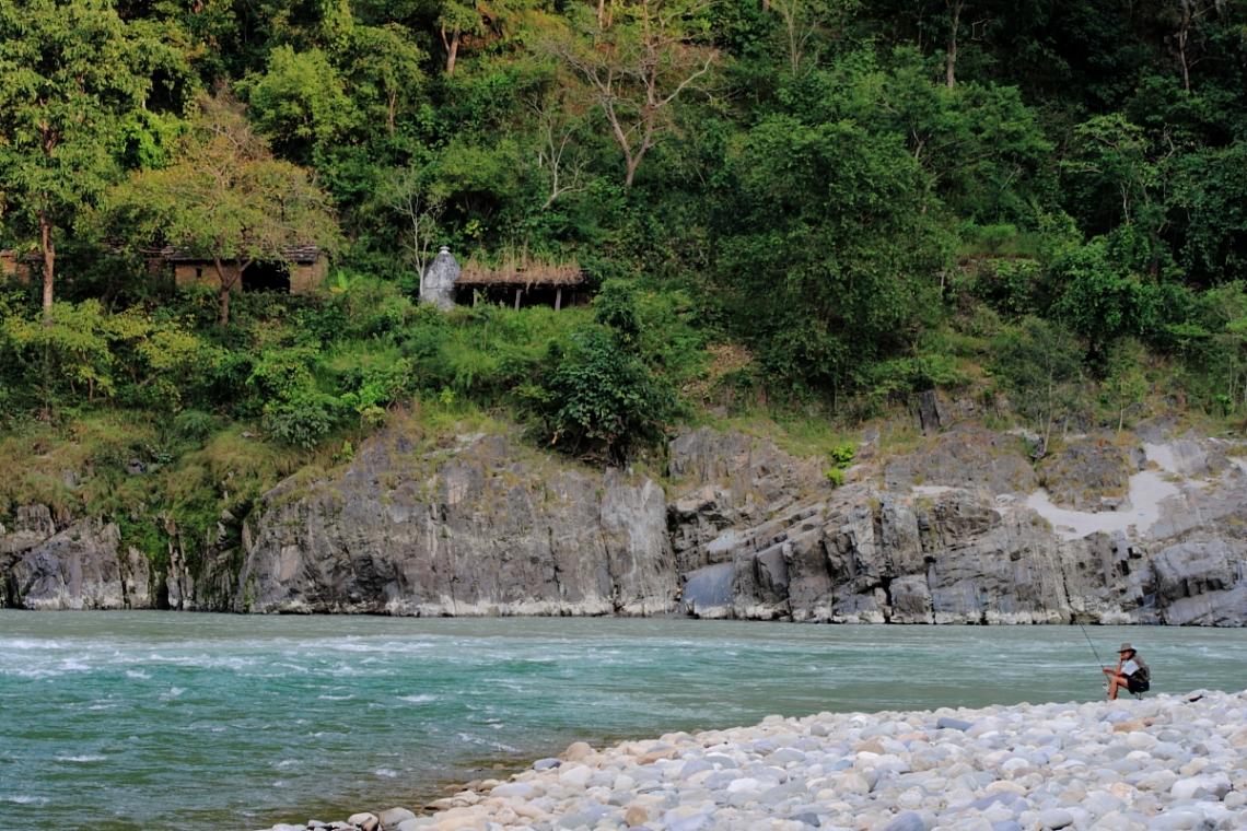 Pancheshwar-River Saryu-Mahakali, ideal spot for Fishing and Camping Image @Manavaggarwal