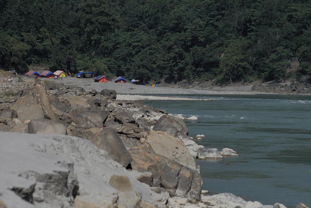 Camping at River Saryu