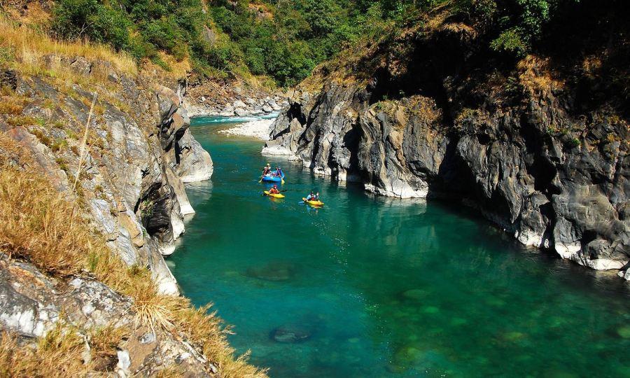 River Rafting at River Saryu