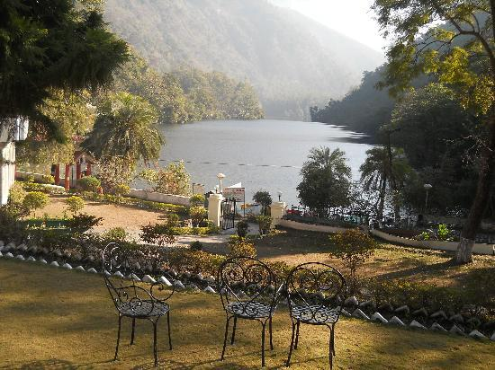 View of the Lake from the Hotel