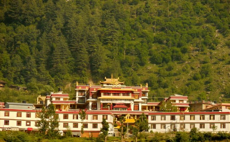 Kais Monastery, near Naggar- Kullu Manali