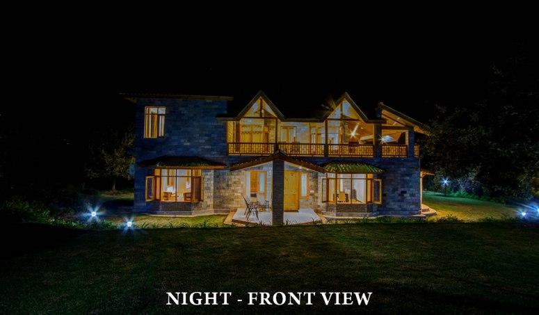 Baragarh Villa: Cosy feel during the Night