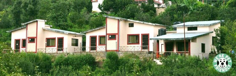 Calm Cottages, a pet friendly place too!