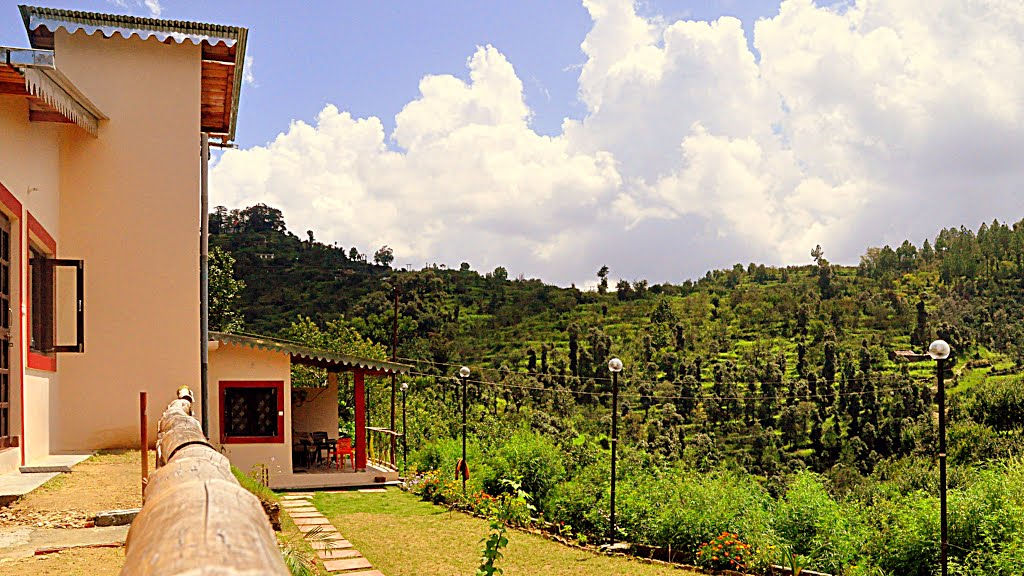 Scenic Surroundings at Calm Cottages, Nathuakhan