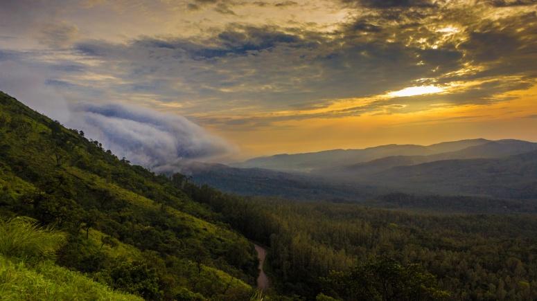 Morning view at Chikmagalure-Kartik Kumar
