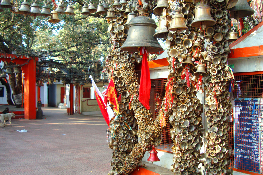 Temple of Bells - Golu Devta Temple near Almora