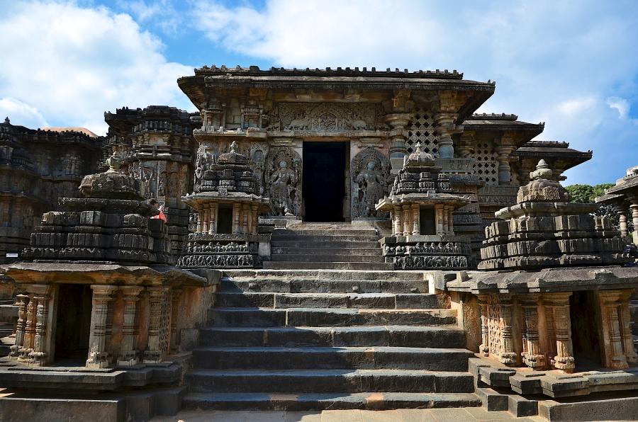 Hoysaleswara Temple at Halebid, Chikmagalur