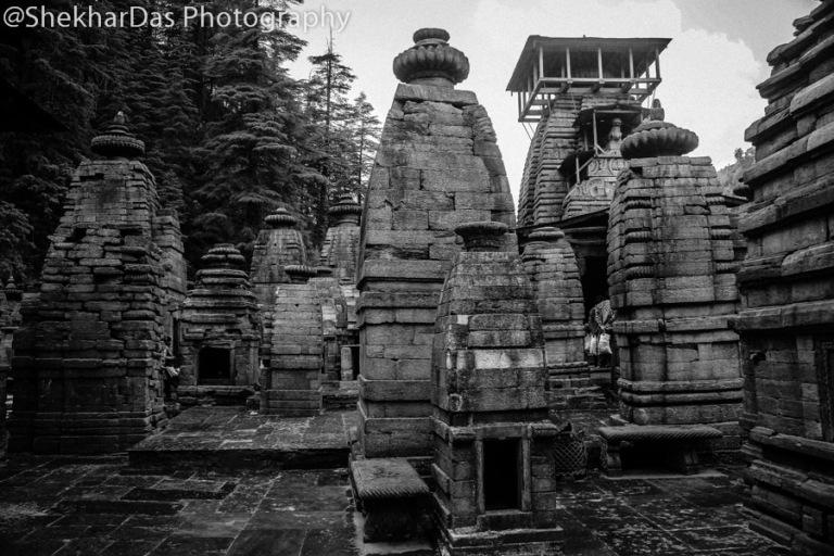 Jageshwar Temple Complex, Almora Image Copyright@Flickr