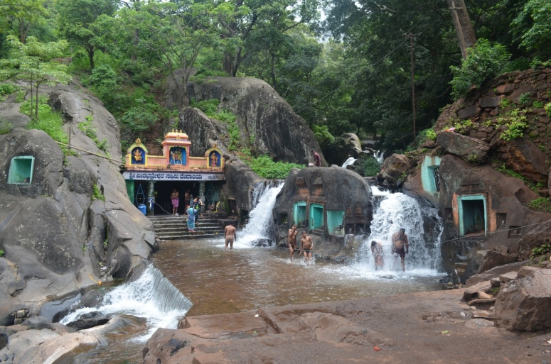 The enchanting little Kalhattgiri Temple, Kemmanagundi